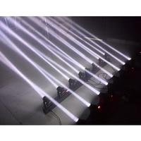 2XLOT 4Heads 80W Led Mini Beam Moving Head Bar Light Professional Stage DJ Lighting DMX Controller Disco Projector Strobe Lights