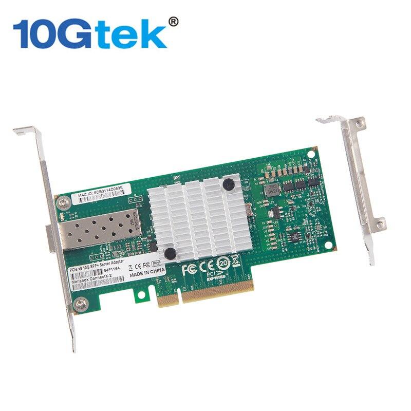 bilder für 10 Gtek Mellanox6801-M Chip 10 Gb Netzwerkkarte (NIC), einzigen SFP + Port, PCI Express 2,0x8