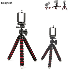 Mini Octopus Flexible Tripod with Air Level for Gopro DLSR Camera Portable Stand Support Holder for Iphone Xiaomi Android Phones