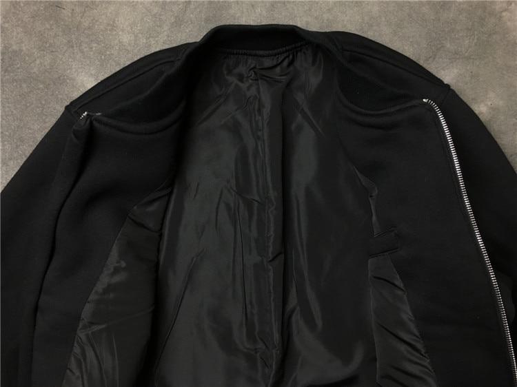 Noir Montant Vestes Urumbassa De Nouvelle Femmes Femmes Manteau Uniforme Mode Col Casaul Streetwear Printemps 2018 hommes Baseball r8wB4z8naq