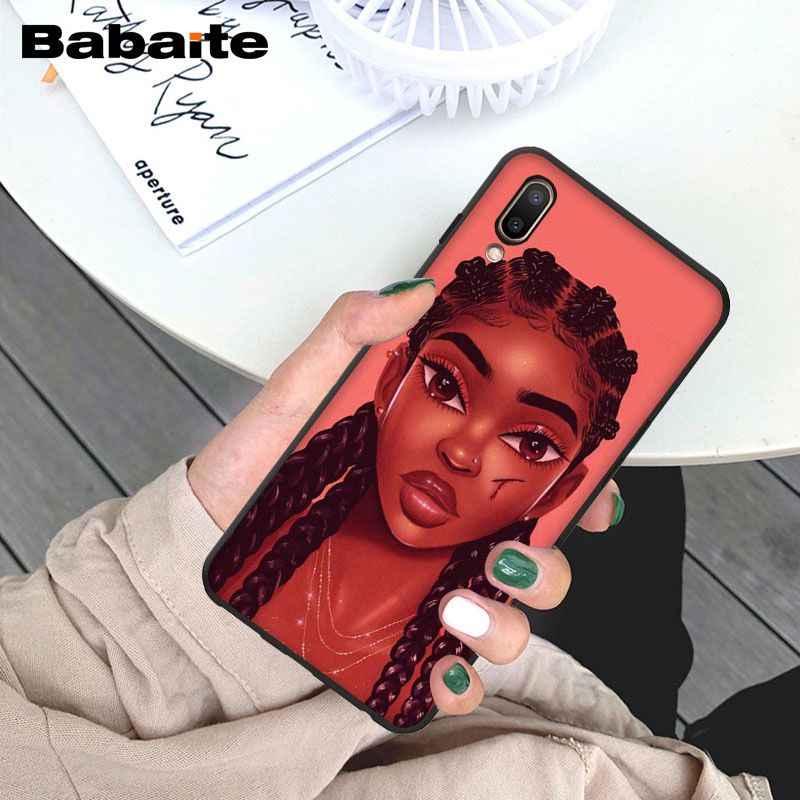 Babaite afryki uroda Afro Puffs czarna dziewczyna luksusowe telefon etui na Vivo X9 Plus X Play 6X23X20 plus x9S X 20 telefonów komórkowych