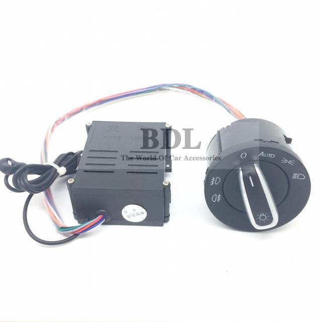 New Version Auto Headlight Light Sensor Switch For VW Golf MK4 4 IV Jetta MK4 MK6 VI Bora Polo Passat B5