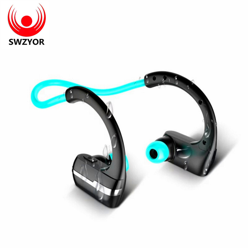 SWZYOR P9 Wireless Bluetooth headphone Sport Stereo headset with Mic CVC Noise Cancellation Sweat Resistant for Xiaomi huawei bluetooth sunglasses sun glasses wireless bluetooth headset stereo headphone with mic handsfree for iphone samsung huawei xiaomi