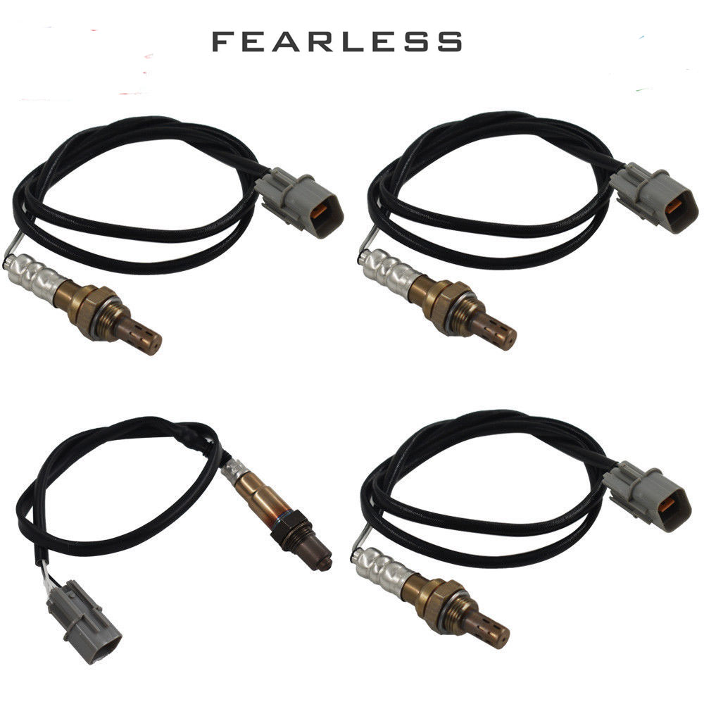 Image 4 - 4pcs Upstream+Downstream Oxygen Sensor O2 02 for Hyundai Tiburon 2.7L 2003 2008 Oxygen Sensor-in Exhaust Gas Oxygen Sensor from Automobiles & Motorcycles