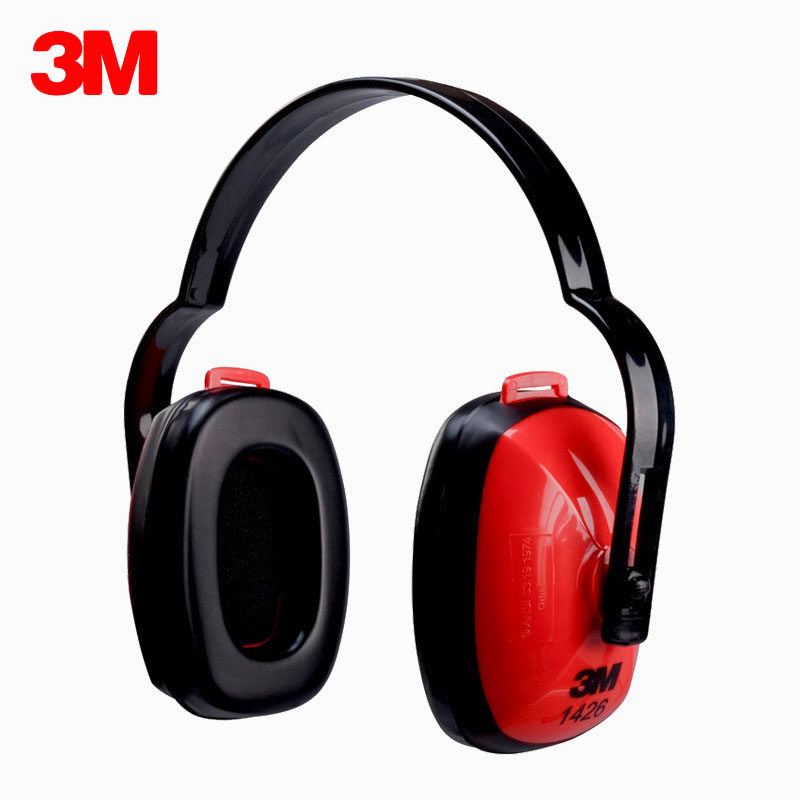 3M 1426 Earmuffs Noise Soundproof Ear Protectors for Travel Sleep Reduction Noise Economic type NRR 21DB Comfortable Ear Muff3M 1426 Earmuffs Noise Soundproof Ear Protectors for Travel Sleep Reduction Noise Economic type NRR 21DB Comfortable Ear Muff