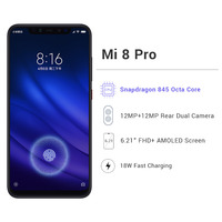 Global Version Xiaomi Mi 8 Pro 8GB RAM 128GB Xiaomi Mobile Phones