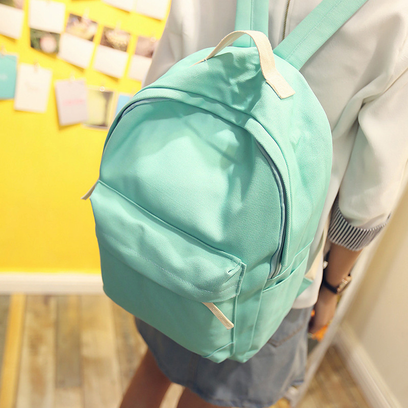 2016 New Japanese Canvas Solid School Backpack For Women Young Girl Hot Lona Escolar Mochila Feminina Women Backpacks women backpack solid schoolbags backpacks for teenage girls hot lona escolar mochila feminina backpack women mochilas mujer 2017