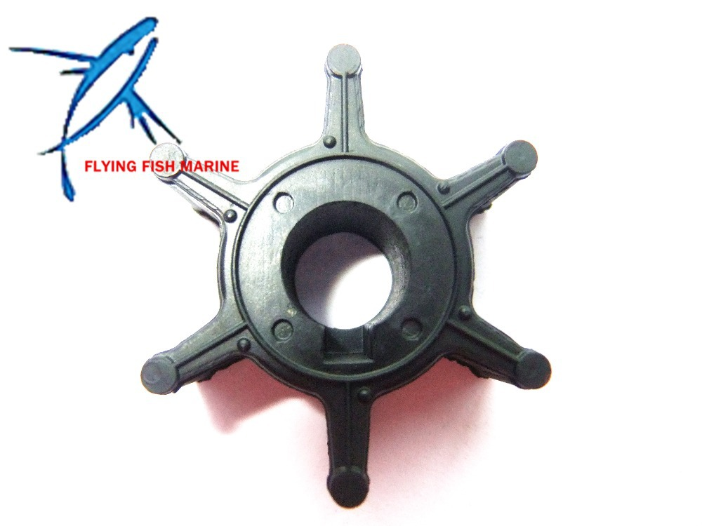 6L5-44352-00 Boat Engine Impeller for Yamaha 4-Stroke <font><b>2.5HP</b></font> F2.5 <font><b>Outboard</b></font> <font><b>Motor</b></font> Water Pump,Hidea <font><b>Outboard</b></font> Impeller image