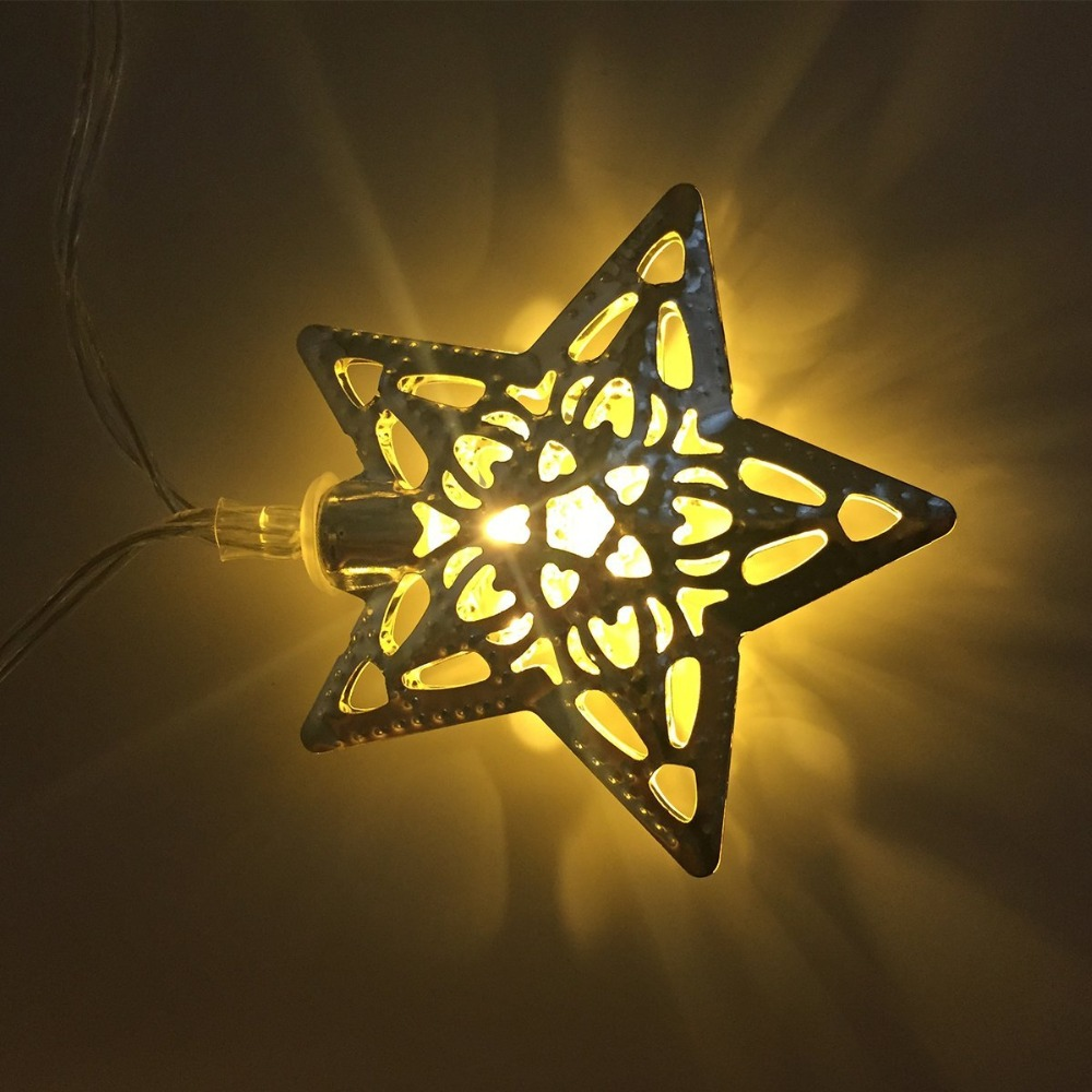 Attractive White Metal Star Wall Decor Photo - The Wall Art ...