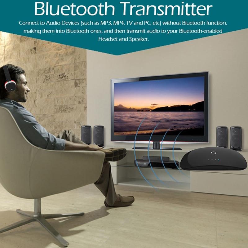 Безжичен Bluetooth аудио предавател и - Преносимо аудио и видео - Снимка 6