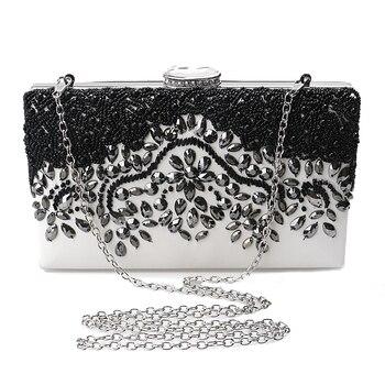 Clutch messenger shoulder chain handbag