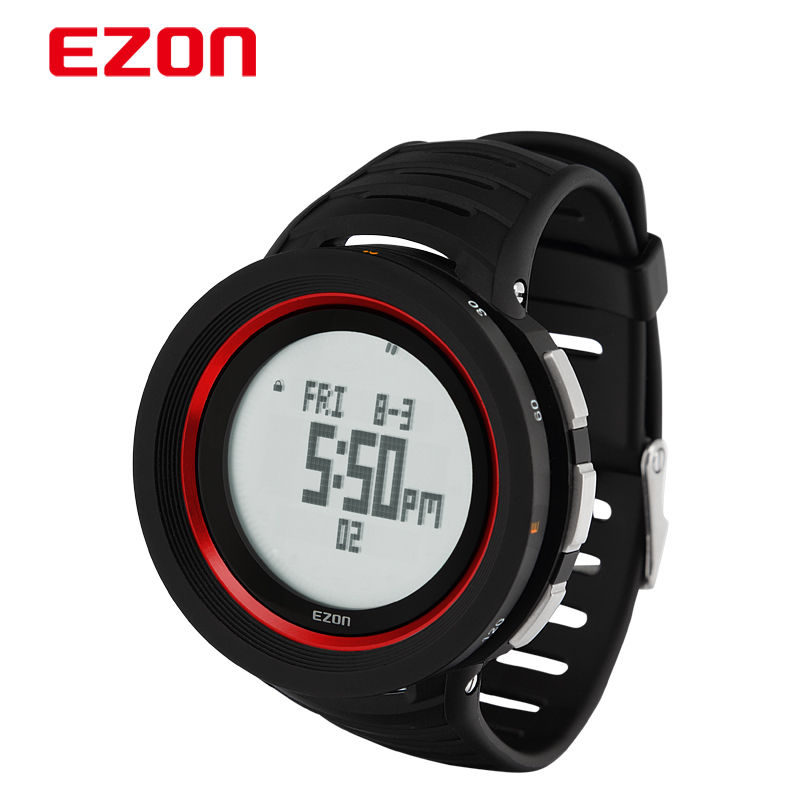 ezon watch H015 profession climbing smart sport wristwatch with measure altitude humidity and reminder function