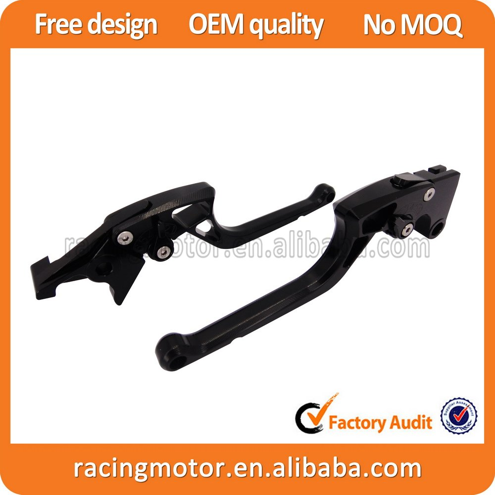 Ergonomic New CNC Adjustable Right-angled 170mm Brake Clutch Lever For Kawasaki Ninja 650R ER-6F/N 2009 2010 2011 2012 2013 2014 cnc pivot brake clutch lever for kawasaki kx65 kx85 kx125 kx250 kx250f new