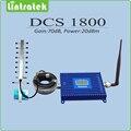 Conjunto completo DCS 1800 mhz sinal de celular repetidor de sinal de saída 20dBm ganho 70dB DCS repetidor de sinal amplificador