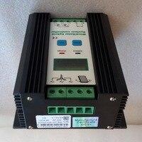 Wind Solar Hybrid Controller 80A 1200W MPPT Solar Power 400W Wind Generator 800W 12V 24V Intelligent