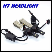 Новое Изобретение Автомобиля H7 H11 Фар 40 Вт 5000LM СВЕТОДИОДНЫЕ Фары H7 Led головного света автомобиля лампа 12 В 24 В автопарк свет H7