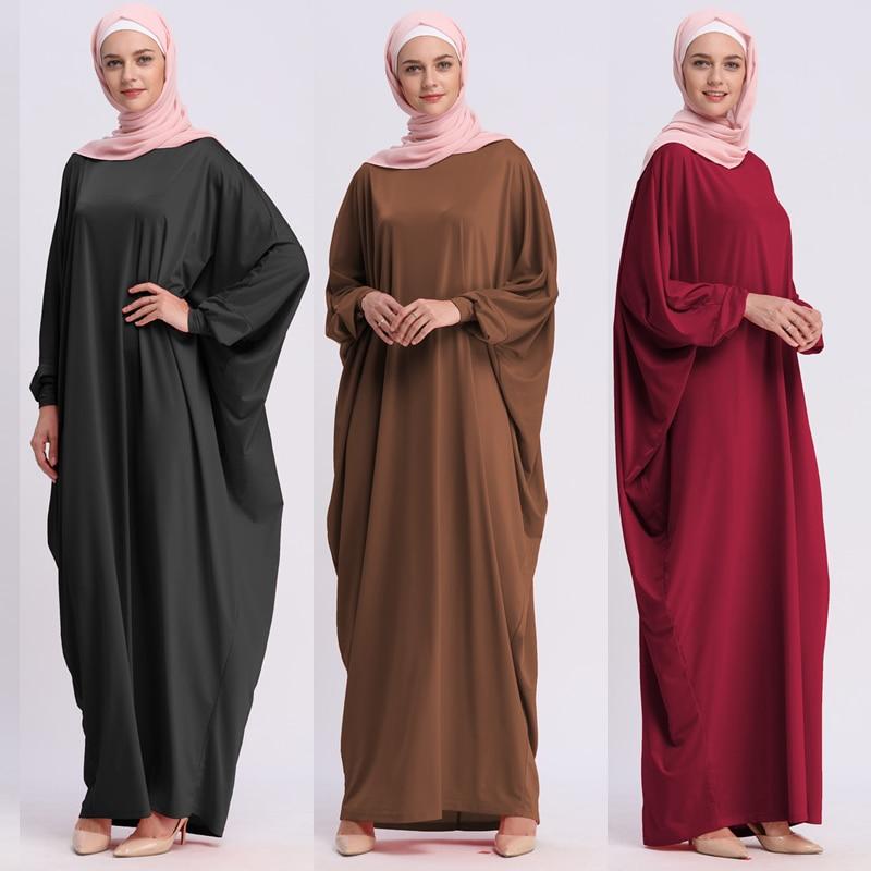 Kaftan Abaya Robe Dubai Arabic Islam Turkey Muslim Hijab Long Dress Abayas For Women Turkish Islamic Clothing