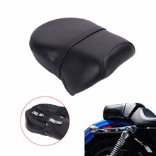 Rear Passenger Seat Pillion Cushion For Harley Sportster Iron 883 Sportster 883 1200 2007 2015 C
