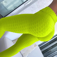 9 Colors Women Hot Yoga Pants White Sport leggings Push Up Tights Gym Exercise High Waist Fitness Running Athletic Trousers 2019
