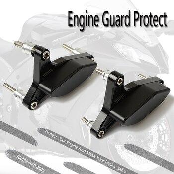 Motorcycle Bumper Engine Protective Guard Crash Bars Decorative Block Dismantling Suitable for Yamaha FZ 1 F Z 1 2006 2007-2011