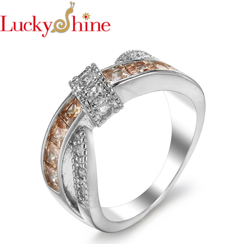 Promotion Jewelry Luckyshine Excellent Round Fire