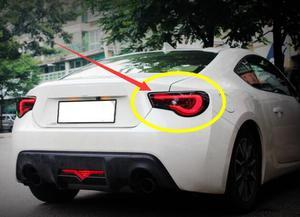 2 шт. задние фонари бампера для 2012 ~ 2017 Toyota GT86 SUBAR BRZ Toyota 86 Toyota86 задние фонари светодиодный задний фонарь