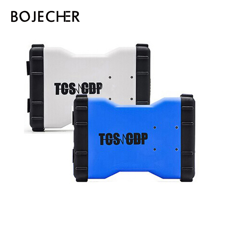 10Pcs/Lot 2016.R0/2015.R3 Keygen Software TCS CDP Pro Plus new vci cdp Bluetooth for Cars/Trucks + Carton box by DHL Free