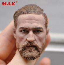 """1/6 Schaal Fit 12 """"Action Figure Body Figuur Nieuwe KM16 91 Europese Mannelijk Hoofd Model Headplay Geen Hals"""