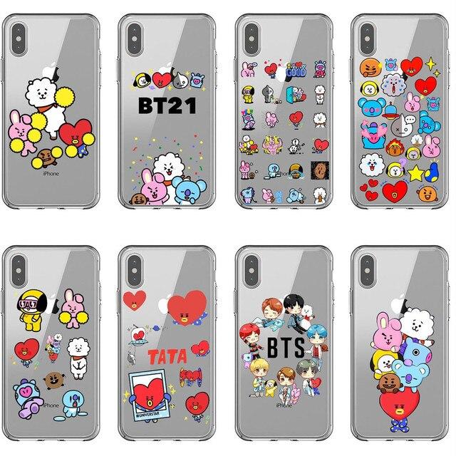 bt21 phone case iphone 8 plus