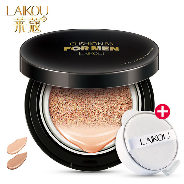LAIKOU Men BB Cream+Replacement Concealer Face Cream Wheat Color&Natural Color Whitening Skin  Oil Control Face Care Makeup F114