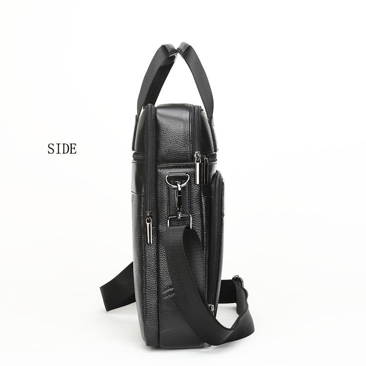 HTB1E5HmCf5TBuNjSspcq6znGFXaI MEIGARDASS Genuine Leather Business Briefcase Men Travel Shoulder Messenger Bags Male Document Handbags Laptop Computer Bag