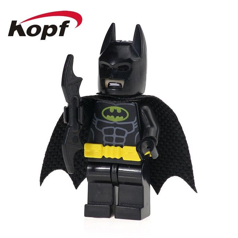 PG103 Super Heroes Building Blocks Batman Joker Harley Quinn Catwoman Utility Belts Batmobile Bricks Education Toys For Children