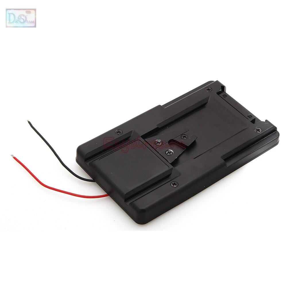 V Lock V mount Battery Adapter Plate for Converter Sony HDV DSLR Rig Power Supply