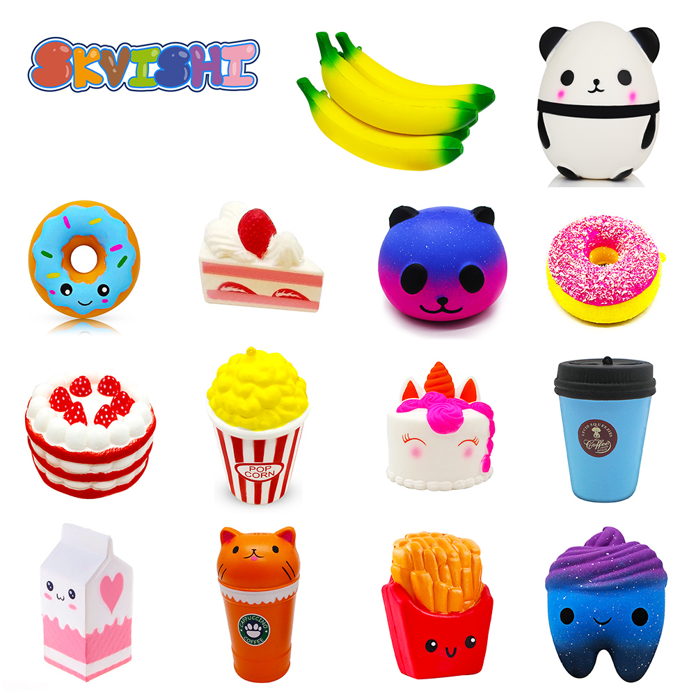 Toys & Hobbies Novelty & Gag Toys Oyuncak Squishy Stress Relief Ice Cream Novelty Gag Toys Squish Surprise Stress Relief Toys Gags Practical Jokes Funny Gadgets Clearance Price