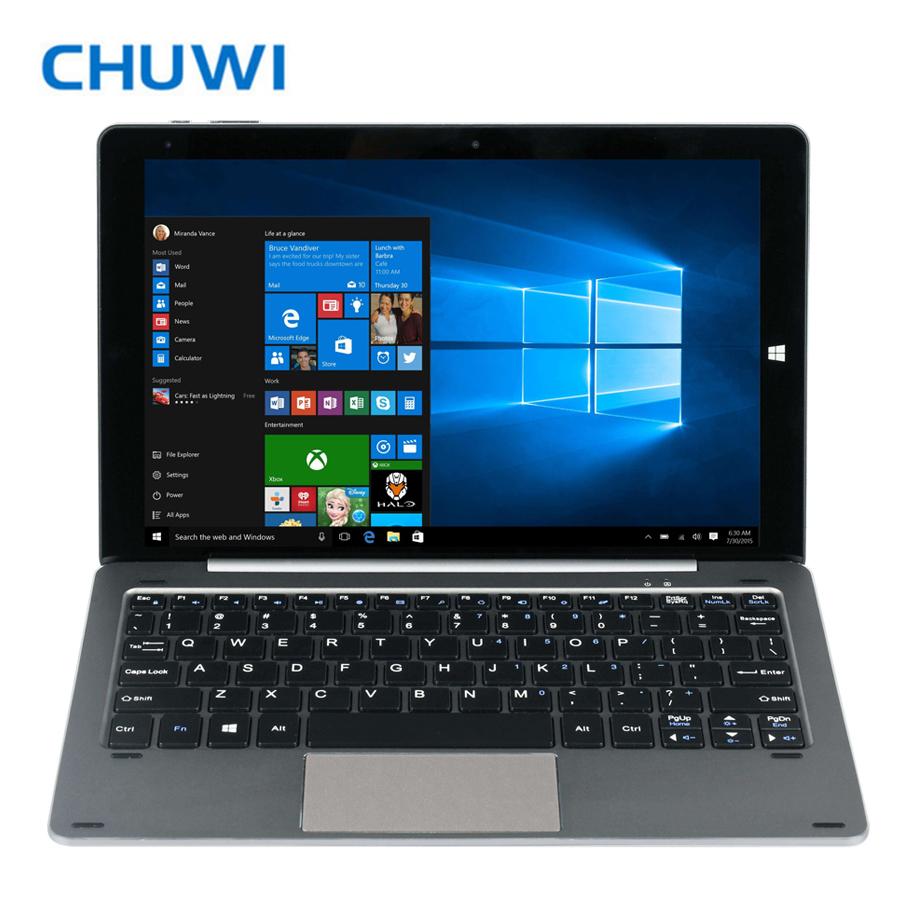 Prix pour Nouvelle arrivée 10.1 ''ogs chuwi hibook pro windows10 + android 5.1 double os tablet pc 2560x1600 intel atom x5-z8300 quad core 4 gb/64 gb