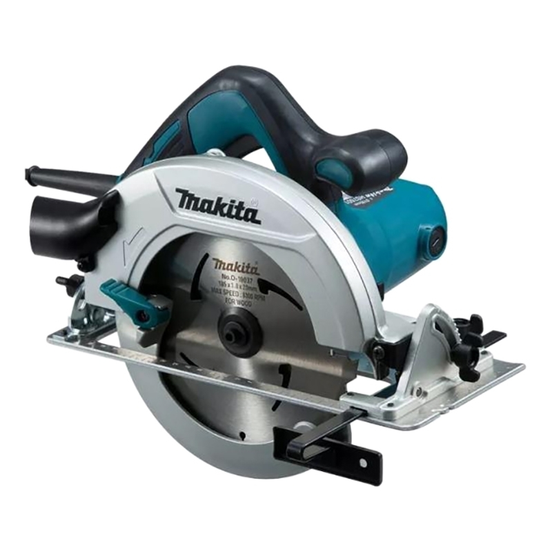 Circular saw Makita HS7601 (Power 1200 W no-load speed 5200 rpm, double insulation) miter saw table redverg rd msu255 1200 power 1800 w no load speed 4500 rpm tilt 45 °