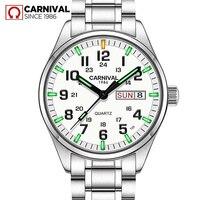 T25 Tritium Gas Luminous Mens Watches 2018 Top Brand Luxury Carnival Military Sport Quartz Wrist Watches for Men relojes hombre