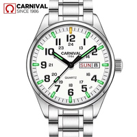 T25 Tritium Gas Luminous Mens Watches 2018 Top Brand Luxury Carnival Military Sport Quartz Wrist Watches for Men relojes hombre