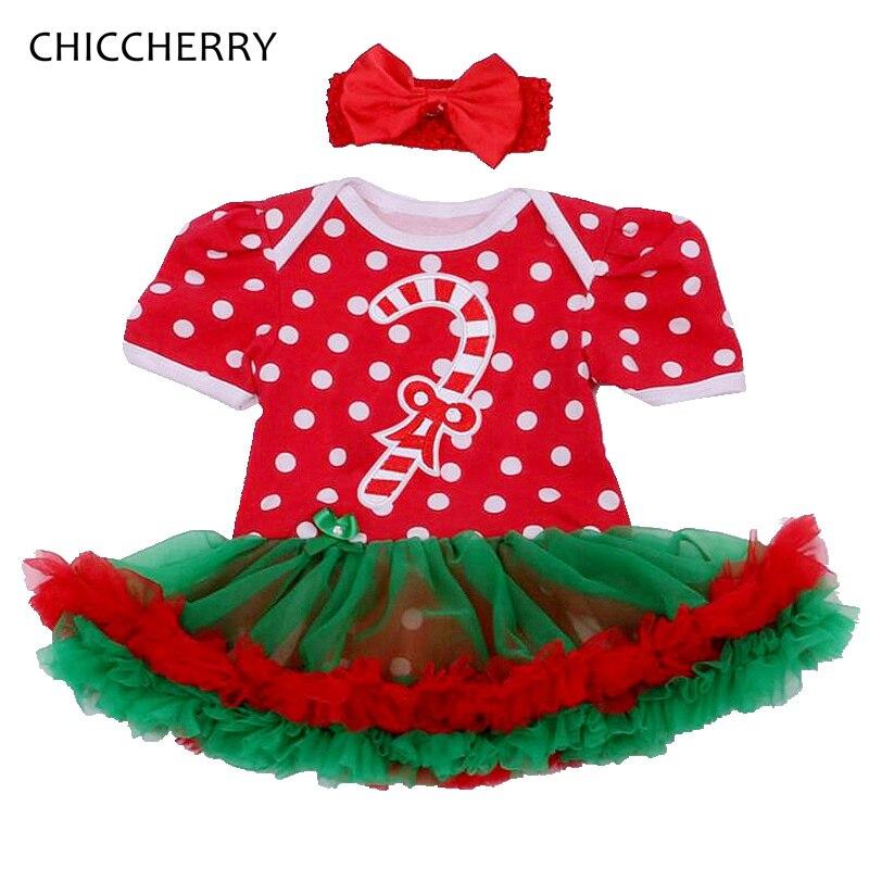 bastones de caramelo traje de la navidad para las nias infantil menina encaje tut con diadema