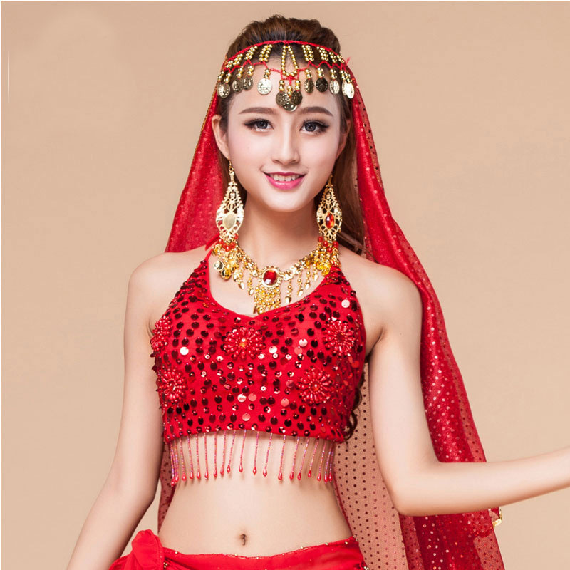 how to cover a bra for belly dance