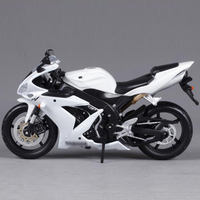 1 12 YMH Motorcycle Simulation Alloy Car Model YZF R1 Scale Die Cast Model Diecasts Vehicles