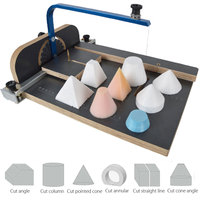 KIWARM Board WAX Hot Wire Foam Styrofoam PS Cutter Machine Working Stand Table DIY Tool