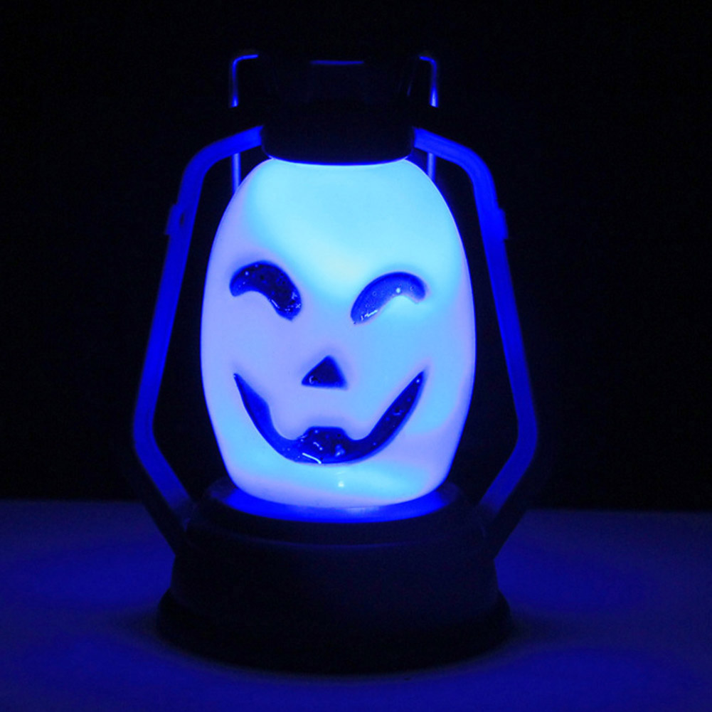 Color Random Colorful Flash Festival LED Lantern Night Light Halloween Decor(China)