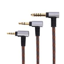 0.78 مللي متر 2pin CIEM OCC متوازن الصوت كابل ل SIMGOT en700pro EN700 باس/عبق Zither/TFZ/فريد ميلودي سماعات