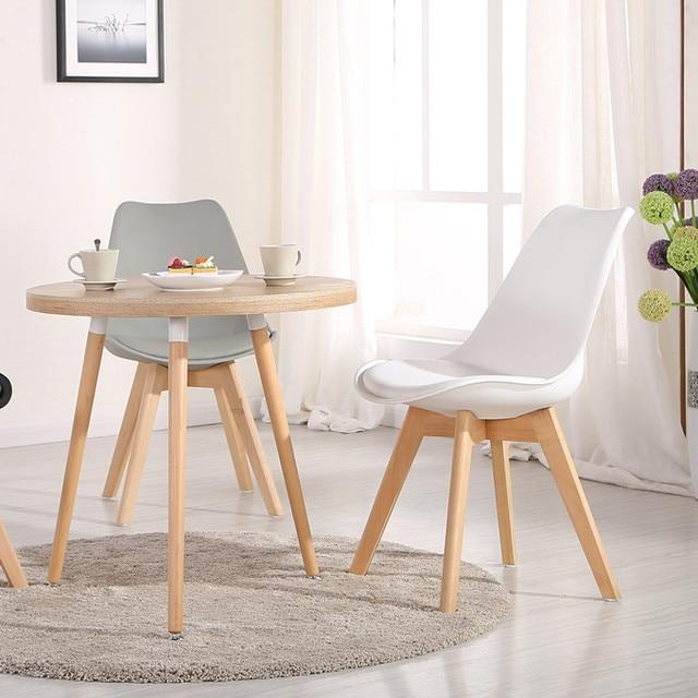 Eames sillas de plástico oficina creativa de moda silla de la ...