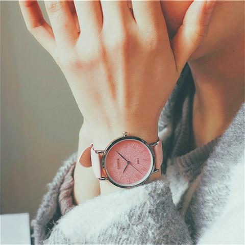 Ulzzang Women Dress Watches Luxury Lovers Couple Watches Simple Waterproof Ladies Men Leather Quartz Watch Clock Montre Homme Islamabad