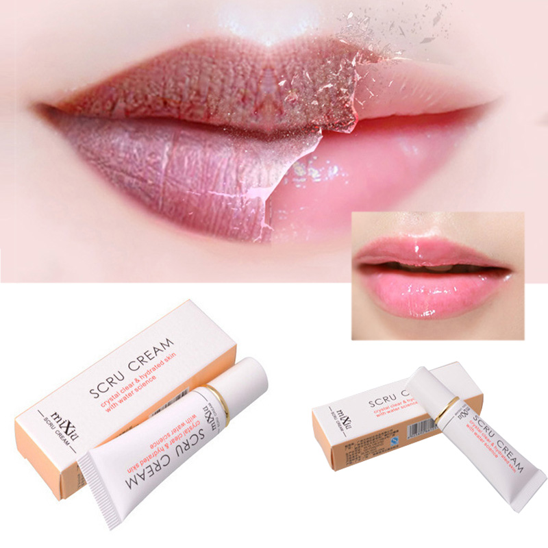 1pcs propolis lip exfoliating Moisturizer repair lip plumper dead skin gel of men and women full Lip nursing scrubs