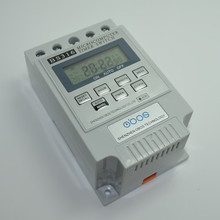 New KG316T AC 220V 12V 24V 110V 25A Din Rail Digital Timer Switch