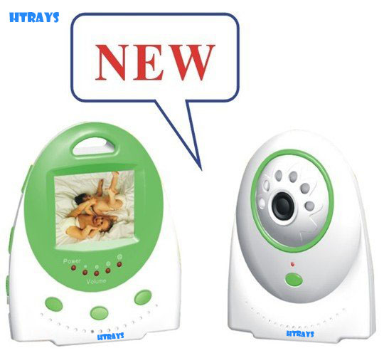 HTRAYS 2017 New Arrival Top Quality 2.4 Ghz Wireless baby monitor ,2.5 Inch Digital baby observer