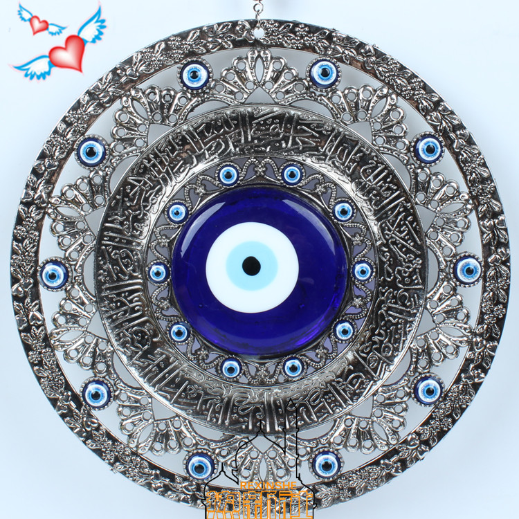Turkey large blue eyes ornaments Muslim peace pendant wall